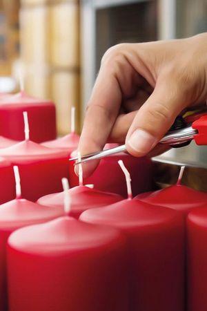 Kerzen in echter Handarbeit