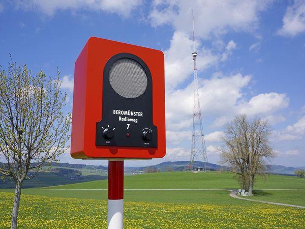 Beromünster-Radioweg: 3 Hörgeschichten unter freiem Himmel
