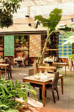 Restaurant Mahoi im Tropenhaus